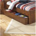 Signature Design by Ashley Barchan Trundle Under Bed Storage - Item Number: B228-60