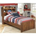 Signature Design by Ashley Barchan Twin Bookcase Bed - Item Number: B228-63+52+82