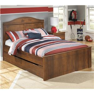 Signature Design by Ashley Barchan Full Panel Bed with Trundle Storage Unit