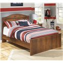 Signature Design by Ashley Barchan Full Panel Bed - Item Number: B228-87+84+86