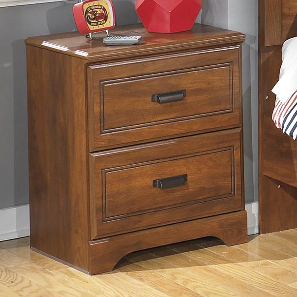 Signature Design by Ashley Barchan Two Drawer Night Stand - Item Number: B228-92