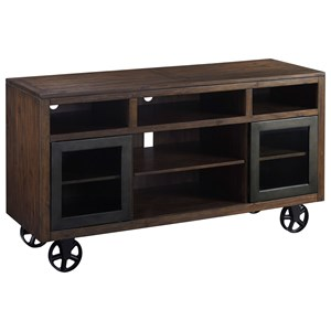 Signature Design by Ashley Barnallow Large TV Stand