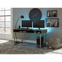 Signature Design by Ashley Barolli Gaming Desk with Open Cubbies and PC Stand