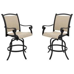 Set of 2 Sling Barstools