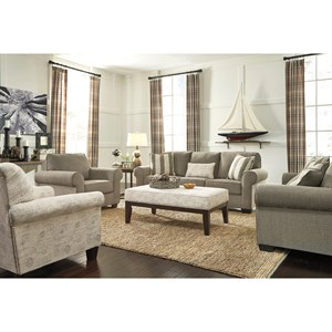Signature Design by Ashley Baveria Stationary Living Room Group