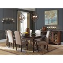 Signature Design by Ashley Baxenburg Formal Dining Room Group - Item Number: D506 Dining Room Group 2