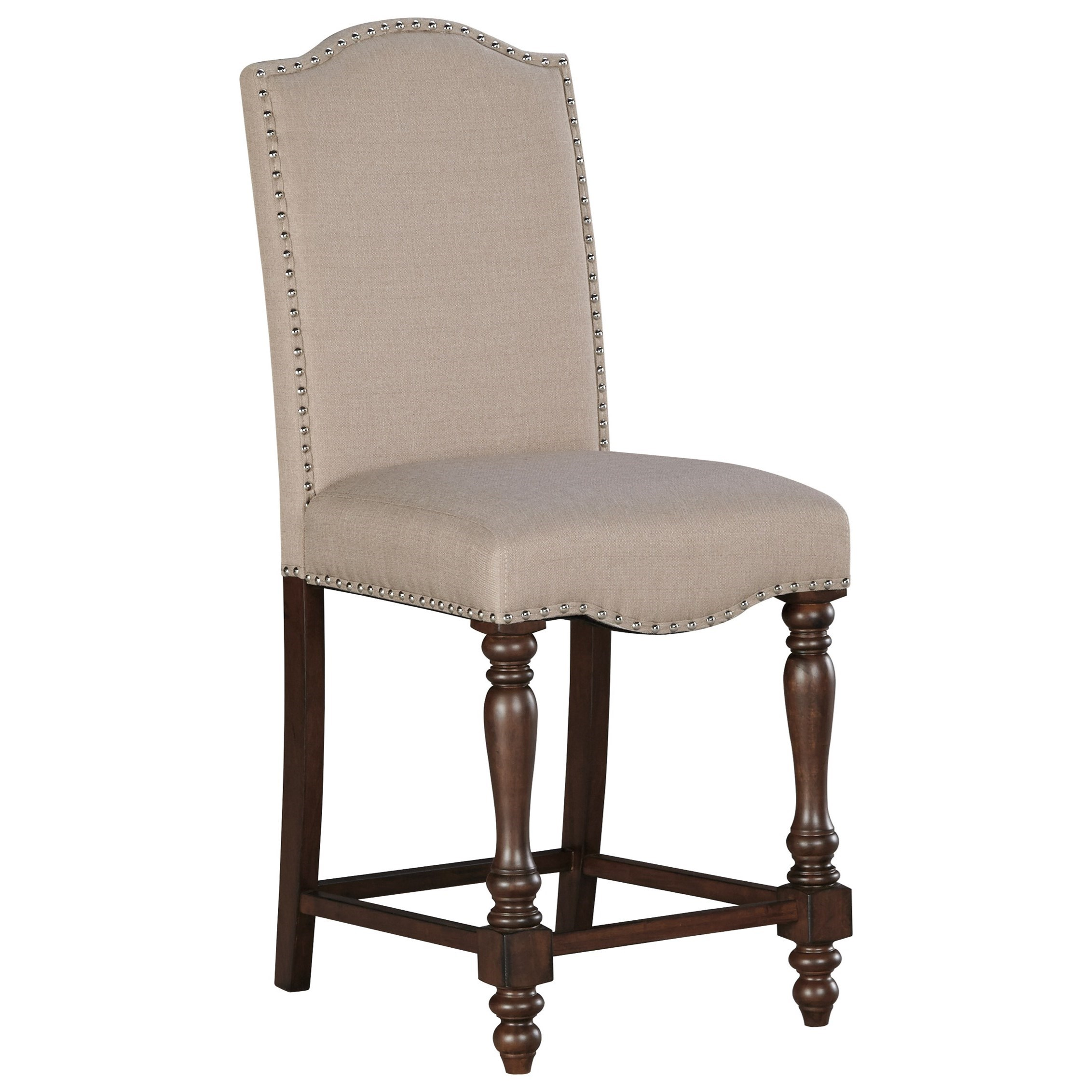 Signature Design by Ashley Baxenburg Upholstered Barstool - Item Number: D506-124