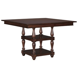 Signature Design by Ashley Baxenburg Square Dining Room Counter Table