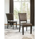 Signature Design by Ashley Baylow Dining Side Chair with Quilted Upholstery Pattern