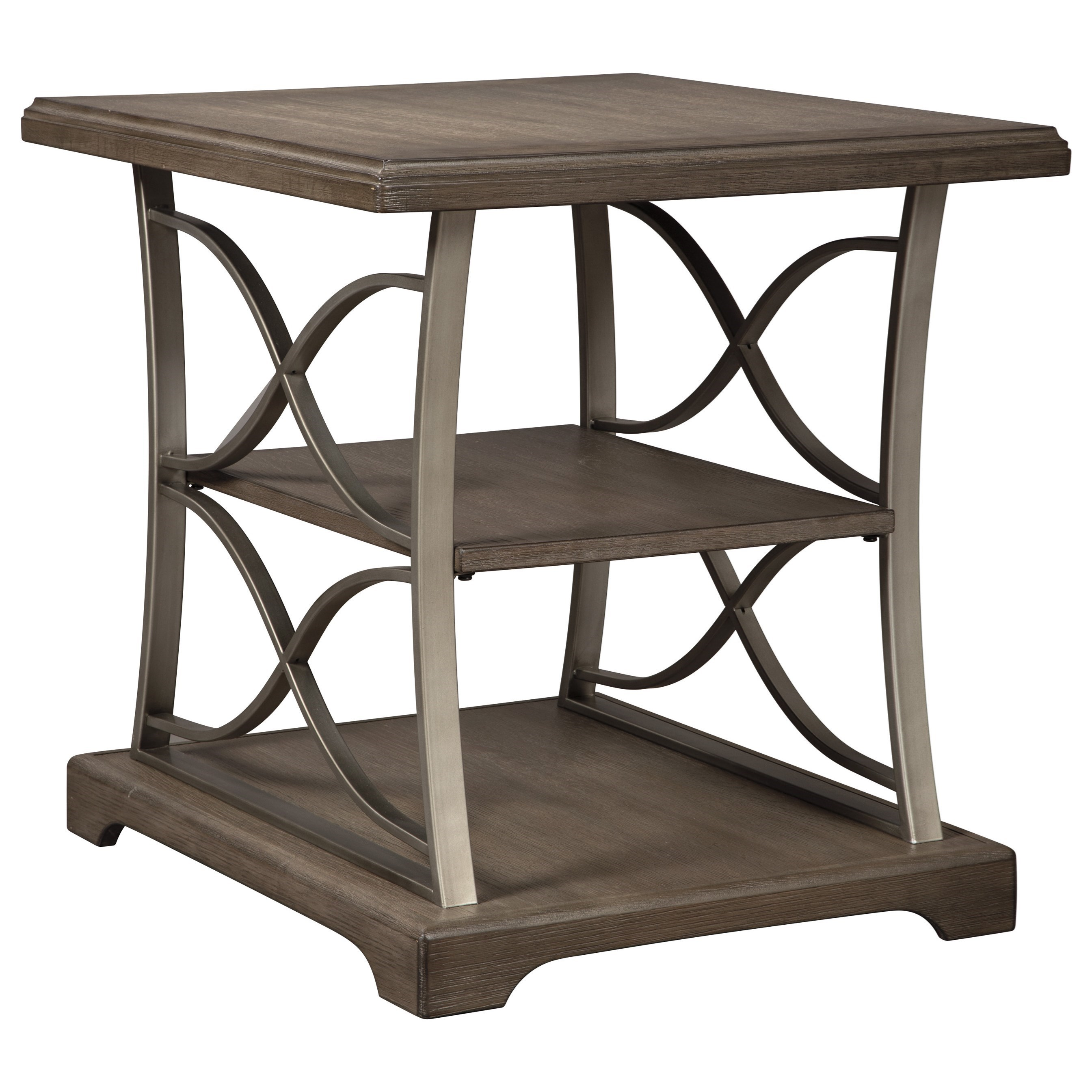 Signature Design by Ashley Baymore Rectangular End Table - Item Number: T634-3