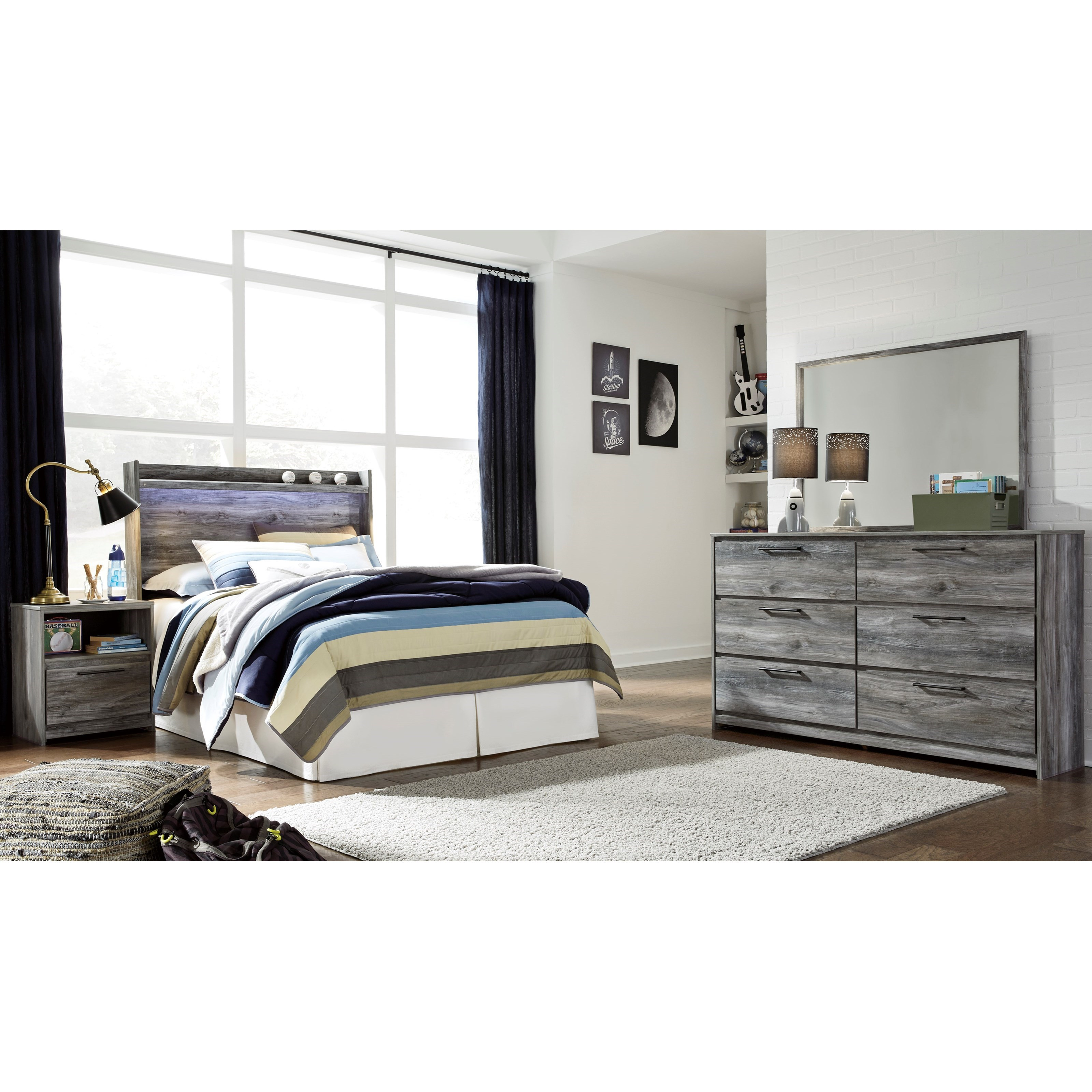 Baystorm Full Bedroom Group by Ashley (Signature Design) at Johnny Janosik