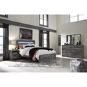 Signature Design by Ashley Baystorm Queen Bedroom Group - Item Number: B221 Q Bedroom Group 1