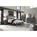 Signature Design by Ashley Baystorm Queen Bedroom Group - Item Number: B221 Q Bedroom Group 3