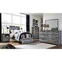 Signature Design by Ashley Baystorm Twin Bedroom Group - Item Number: B221 T Bedroom Group 8