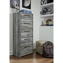 Signature Design by Ashley Baystorm Narrow 5-Drawer Chest
