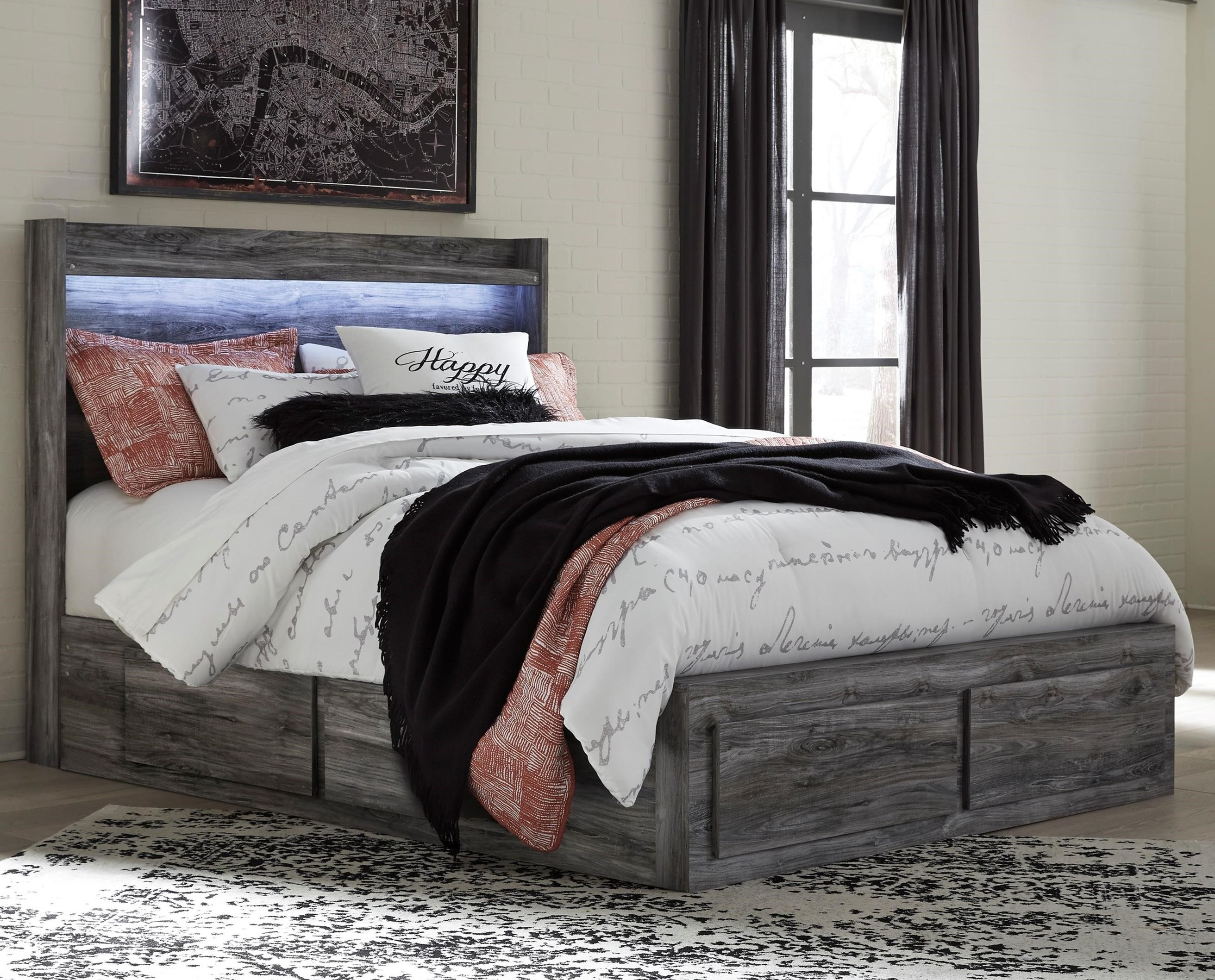 Baystorm Queen Storage Bed by Signature Design by Ashley at Red Knot
