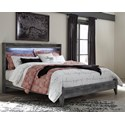 Signature Design by Ashley Baystorm King Panel Bed - Item Number: B221-58+56