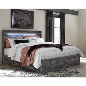 Ashley Signature Design Baystorm King Storage Bed with 6 Drawers