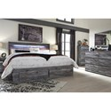 Signature Design by Ashley Baystorm King Storage Bed with 6 Drawers
