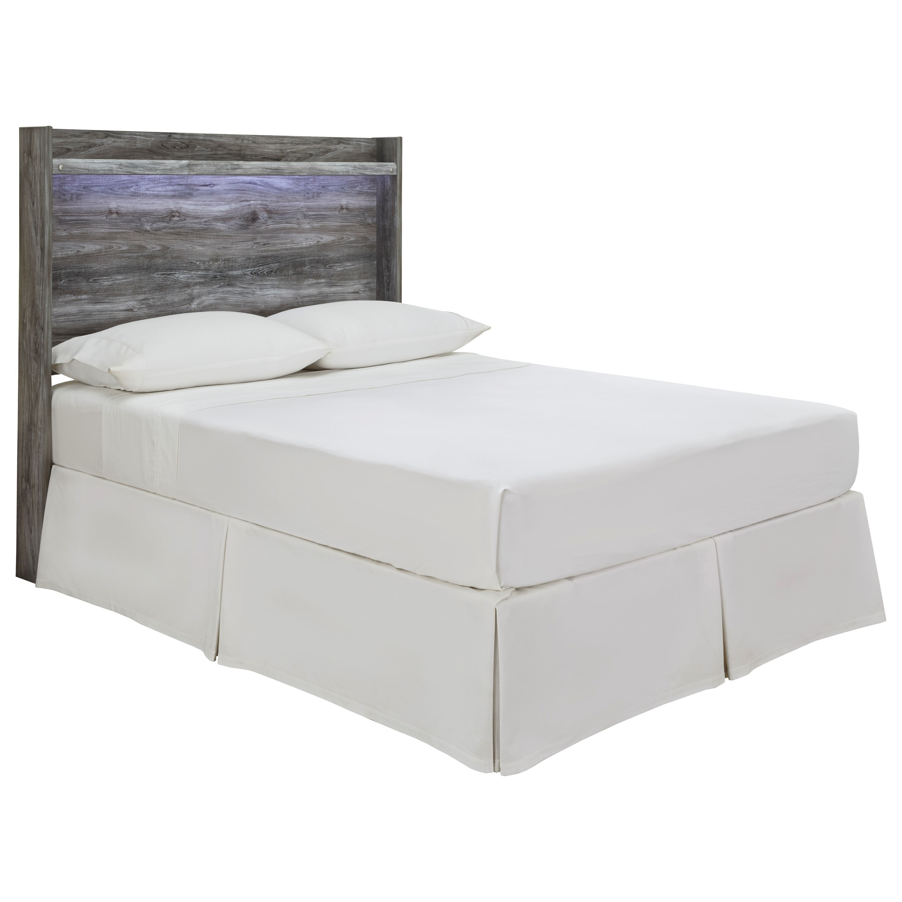 Baystorm Full Panel Headboard by StyleLine at EFO Furniture Outlet