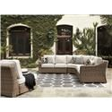 Signature Design by Ashley Beachcroft 5 PC Outdoor Conversation Set - Item Number: 749279104