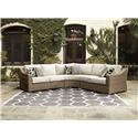 Signature Design by Ashley Beachcroft 3 PC Outdoor Conversation Set - Item Number: 795279100