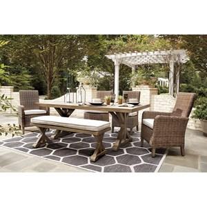 6 Piece Outdoor Dining Set