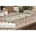 Signature Design by Ashley Beachcroft Rectangular Bar Table with Fire Pit