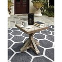 Signature Design by Ashley Beachcroft Square End Table - Item Number: P791-702