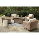 Signature Design by Ashley Beachcroft Outdoor Fire Pit Set