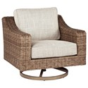Signature Design by Ashley Beachcroft Swivel Lounge Chair - Item Number: P791-821