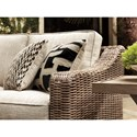 Signature Design by Ashley Beachcroft 4 Piece Resin Wicker Sectional Set