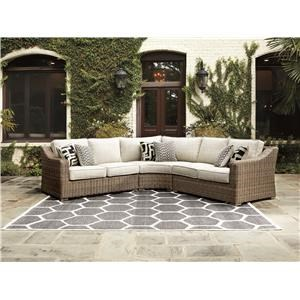3 Piece Outdoor Sectional