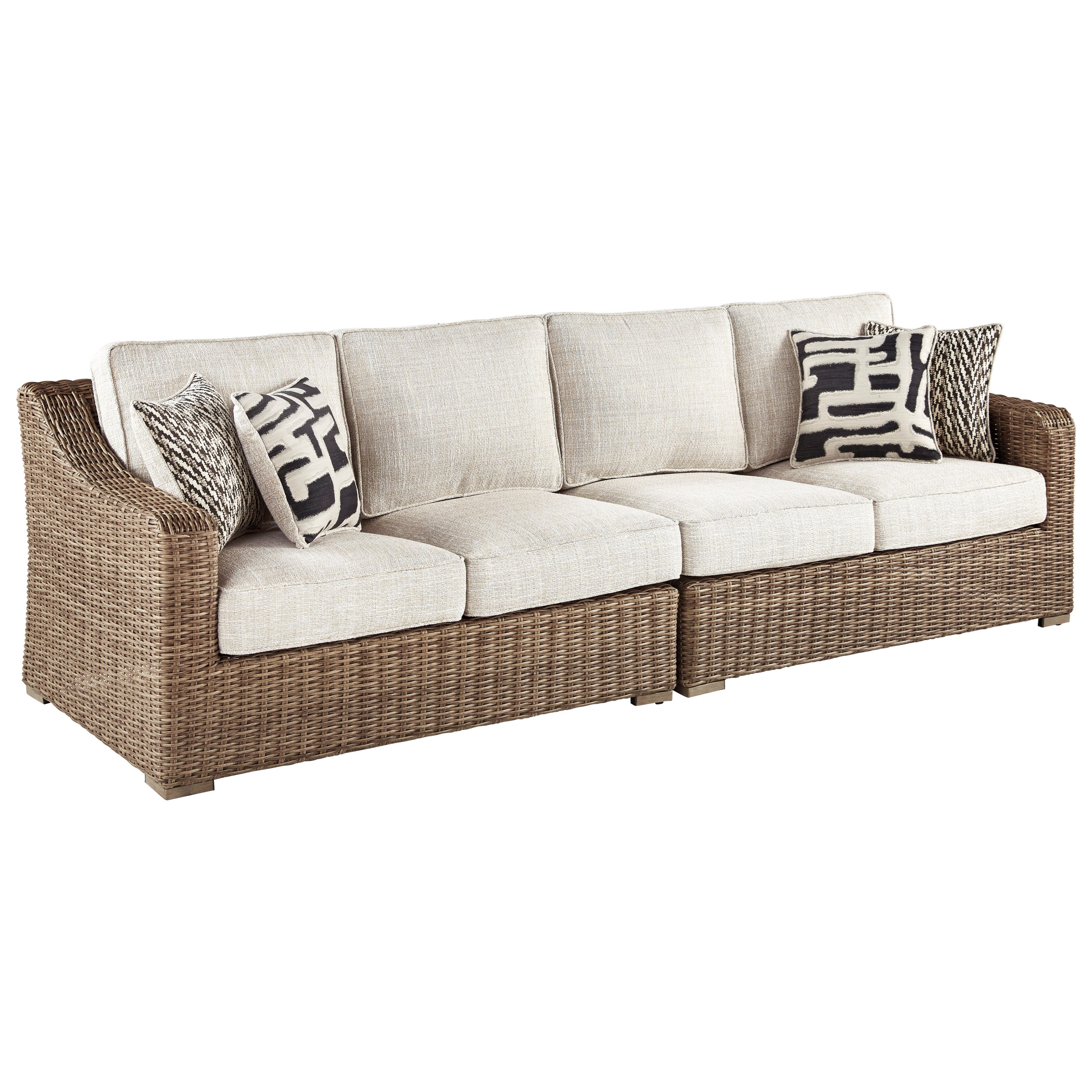 Beachcroft RAF/LAF Loveseat with Cushion by StyleLine at EFO Furniture Outlet