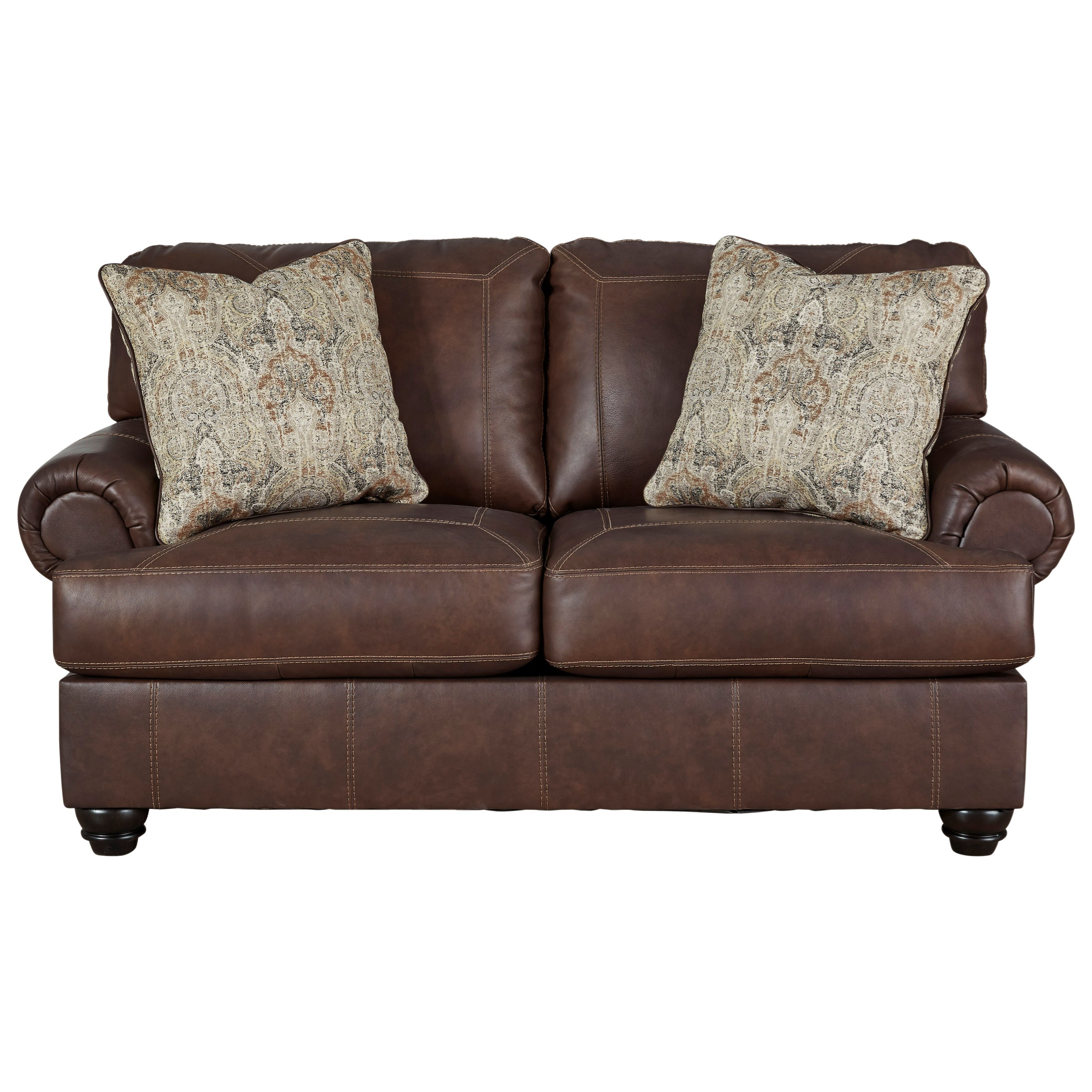 Bearmerton Loveseat by Signature Design by Ashley at Zak's Warehouse Clearance Center