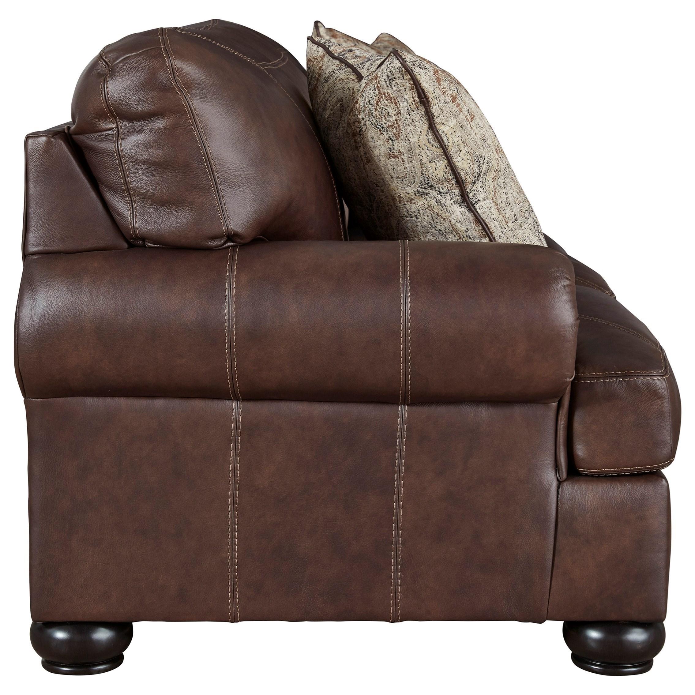 Signature Design by Ashley Bearmerton Traditional Sofa ...