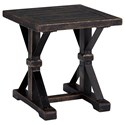 Ashley (Signature Design) Beckendorf Square End Table - Item Number: T096-2