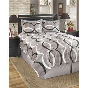 StyleLine Bedding Sets Queen Primo Alloy Top of Bed Set