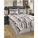 Signature Design by Ashley Bedding Sets Queen Primo Alloy Top of Bed Set - Item Number: Q193004Q