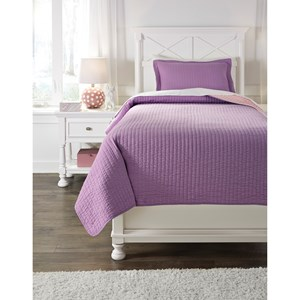 Signature Design by Ashley Bedding Sets Twin Dansby Coverlet Set
