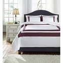 Signature Design by Ashley Bedding Sets King Daruka Duvet Cover Set - Item Number: Q248023K
