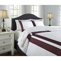 Signature Design by Ashley Bedding Sets King Daruka Duvet Cover Set - Bed shown may not represent bed size indicated