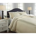 Signature Design by Ashley Bedding Sets Queen Chamness Sand Duvet Cover Set