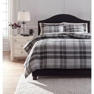 StyleLine Bedding Sets King Danail Gray Duvet Cover Set