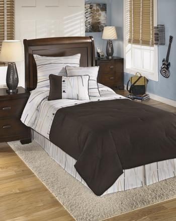 Signature Design by Ashley Bedding Sets Twin Stickly Multi Top of Bed Set - Item Number: Q305001T