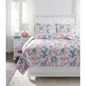 Signature Design by Ashley Bedding Sets Full Jobeth Quilt Set - Item Number: Q318003F