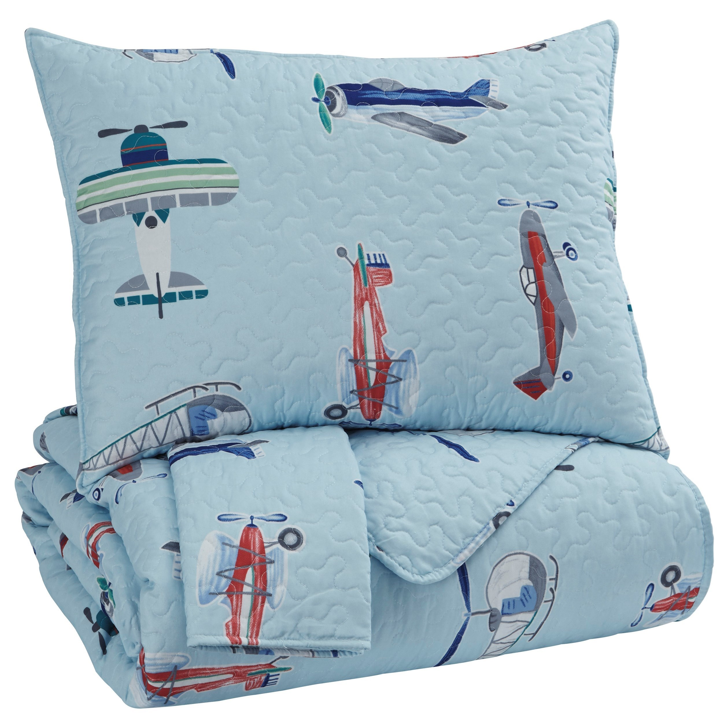 Signature Design By Ashley Bedding Sets Q320003f Full Mcallen Quilt Set Del Sol Furniture