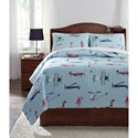 Signature Design by Ashley Bedding Sets Full McAllen Quilt Set - Item Number: Q320003F