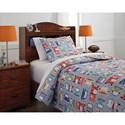 Signature Design by Ashley Bedding Sets Twin Beaverton Quilt Set
