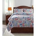 Signature Design by Ashley Bedding Sets Full Beaverton Quilt Set - Item Number: Q321003F